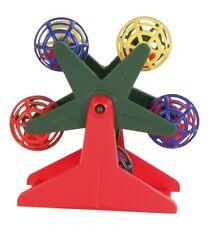 Trixie oiseaux grande roue avec oiseau boules urbain cage perruche jouet jeu Canary