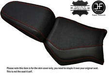 GRIP CARBON DARK RED ST CUSTOM FITS YAMAHA MT 03 06-14 FRONT + REAR SEAT COVER