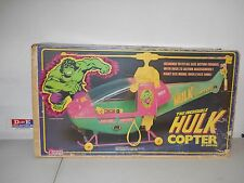 VINTAGE 1979 EMPIRE TOYS MARVEL COMICS THE INCREDIBLE HULK COPTER BRAND NEW RARE