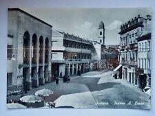 SUZZARA Piazza Luppi Farmacia Mantova vecchia cartolina