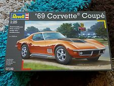 Revell 1/24 Chevy '69 Corvette Coupe Classic Great Condition Very Rare