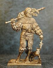 Tin Soldiers * Renaissance * Landsknecht with the cat, 16th century  * 54-60 mm