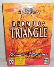 Lost Secrets Bermuda Triangle Unsolved Mysteries PC Game Win & Mac Tested Works!