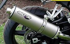 Micron Exhaust Small Oval Titanium Replacement Sleeve ONLY