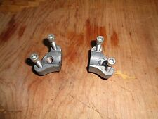 harley silver short handle bar risers with top bolts sportster,dyna