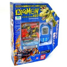 NEW BANDAI DIGIMON BLUE NEO PENDULUM ENGLISH DIGIVICE DATA LINK+CARD RARE