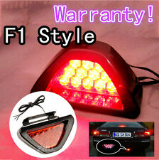 Red LED Motorcycle Motorbike Rear Tail Brake Stop Light Signal Light Strobe Fog