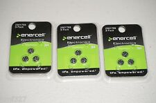 Lot of 3 NEW! Enercell 3-Pack Silver-Oxide 364 Batteries 2301759 New 9 batteries