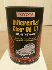 Toyota Lexus synthetic gear oil LT 75W-85 08885-02506 Tundra Tacoma Sequoia FJ