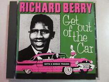 RICHARD BERRY GET OUT OF THE CAR 1992 20 TRK CD R&B BONUS TRACKS MEGA RARE OOP