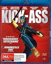 Kick-Ass - BLU-RAY - All Regions - Aaron Taylor-Johnson, Nicolas Cage