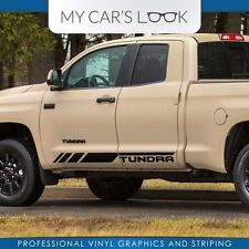 Toyota Tundra Double Cab 2016 graphics side stripe decal - Model 2
