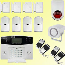 LCD di sicurezza Wireless Mobile SIM GSM ANTICENDIO Home Casa Antifurto intruso Allarme