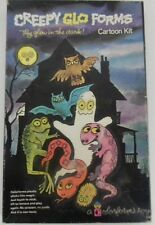 Vintage Colorforms Creepy Glo Forms Halloween Glow in the Dark In Box Ghost