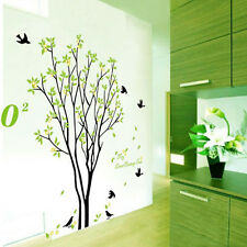 Cool Tree Bird Quote Removable Vinyl Wall Decal Mural Home Art DIY Decor Sticker