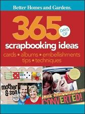 365 Days of Scrapbooking Ideas (Better Homes & Gardens Crafts)-ExLibrary