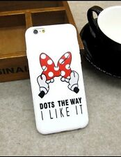 Disney Minnie Mouse Bow Silicone Gel iPhone 6 Or 6s Case Cover. Xmas