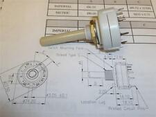 BCKS1020 Rotory Selector Switch 16 Position  LORLIN No Stop Pattern 042 NEW CA32