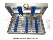 Dental Sterilization Cassettes for 7 Instruments High Quality British Brand CE