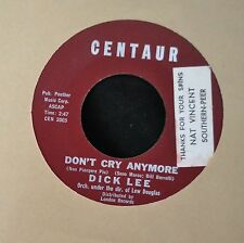 Dick Lee Centaur 2004 Don't Cry Anymore and My First Kiss
