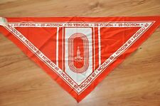 Beautiful RARE 1980 Soviet Russia Moscow Olympic Games USSR Collectible SCARF