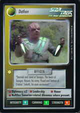 STAR TREK CCG REFLECTIONS SUPER RARE DATHON