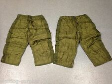 Lot of 2 MEDIUM US MILITARY USMC / ARMY COLD WEATHER PANTS FIELD LINER THERMAL