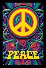 INSPIRATIONAL POSTER Peace Sign Psychedelic