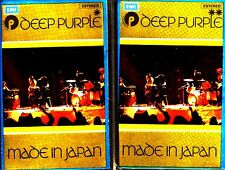 CASx2 - DEEP PURPLE - MADE IN JAPAN (SPANISH ISSUE 1972) PRECINTADO - NEW SEALED