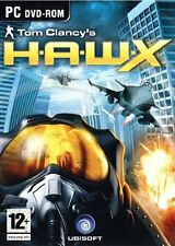 Tom Clancy's H.A.W.X PC DVD) NUEVO PRECINTADO FINO FUNDA HAWK