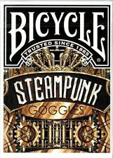 SteamPunk Goggles Deck Bicycle Playing Cards Poker Size Custom Limited Sealed