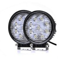 2Pcs 27W Spot LED Work Light Car Worklight Lamp Truck Boat Offroad 12V/24V
