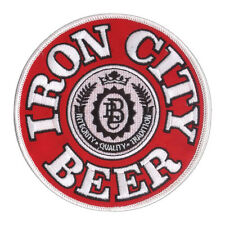 "New 4 3/4"" Iron City Beer Embroidered Patch Pittsburgh Brewing Pittsburgh Pride"