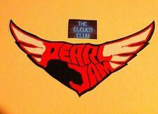 Pearl Jam Sticker 2005 Wings Klausen Logo Rare & OOP Vedder VTG Die Cut Ten Club