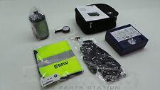 BMW Reifen Pannenset Mobility Set Kompressor Warnweste Handschuhe