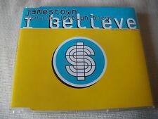 JAMESTOWN / JOCELYN BROWN - I BELIEVE - 3 MIX DANCE CD SINGLE