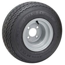 Kenda Hole-N-One Golf Cart Tire & Rim, 18x8.5-8, 4 ply Club Car Gray Precedent