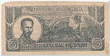 Vietnam Indochina France 5 Dong, 1947(Rare) special offer
