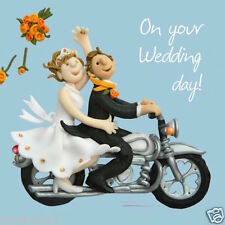 """HOLY MACKEREL'S""""ON YOUR WEDDING DAY""""GREETING CARD *FREE 1ST CLASS P&P"""