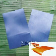 2pcs Blue PVC Patch Inflatable Boat Raft Kayak Canoe Repair Material 12 x 20cm