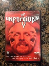 WWF - Unforgiven 2001 (DVD, 2001)Authentic US Release-RARE Out Of Print