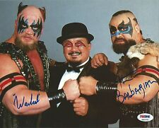 The Powers of Pain Barbarian & Warlord Signed WWE 8x10 Photo PSA/DNA COA Picture