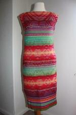 Lauren Ralph Lauren Womens Petite Striped Sweater Dress Southwest PM