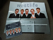 Westlife What Makes A Man RARE CD Single + Poster