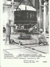 Cosmology Postcard - Visit of Halley's Comet - Halley's Comet Interceptor  2240
