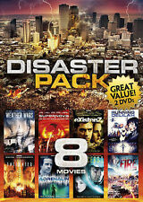Disaster Pack: 8 Movies (DVD, 2013, 2-Disc Set) New Factory Sealed