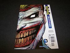 NIGHTWING #15 1ST PRINT BATMAN DEATH OF THE FAMILY JOKER RETURNS DIE CUT NEW 52