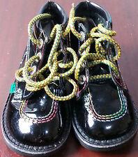 Kickers niños pequeños Niño Niñas Zapato de cuero para niños de 2/3 años de edad