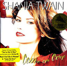 "Shania Twain ""Come On Over"" CD *NEW* + FREE GIFT"