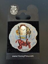Pirate's Lair Skeleton  Jail Cell Tom Sawyer's Island Spinner Disney Pin on Card
